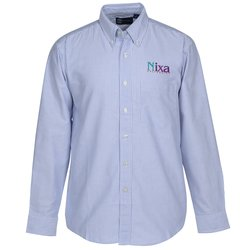 View a larger, more detailed picture of the Blue Generation Long Sleeve Oxford - Men s - Stripes