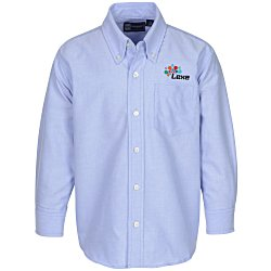 View a larger, more detailed picture of the Blue Generation Long Sleeve Oxford - Youth