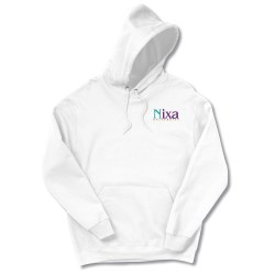 View a larger, more detailed picture of the FOL Best 50 50 Hoodie - Embroidered - White