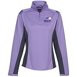 View a larger, more detailed picture of the Dash UltraCool Pullover LS Sport Shirt - Ladies