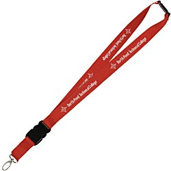 View a larger, more detailed picture of the Hang In There Lanyard