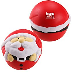 View a larger, more detailed picture of the Holiday Stress Reliever - Santa