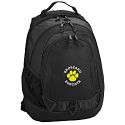 View a larger, more detailed picture of the Life in Motion Primary Laptop Backpack - Embroidered