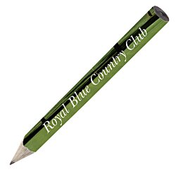 View a larger, more detailed picture of the Full Color Round Golf Pencil