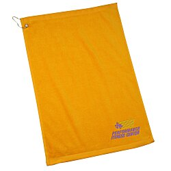 View a larger, more detailed picture of the Golf Towel with Grommet and Clip