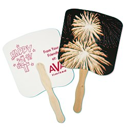 View a larger, more detailed picture of the Hand Fan - Event - Fireworks