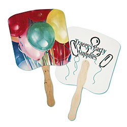 View a larger, more detailed picture of the Hand Fan - Event - Balloons