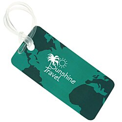 View a larger, more detailed picture of the Destination Luggage Tag - Globe