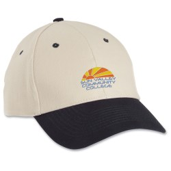 View a larger, more detailed picture of the Heavy Brushed Cotton Twill Cap