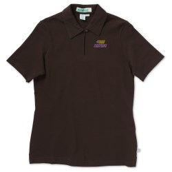 View a larger, more detailed picture of the Extreme Organic Cotton Pique Polo - Ladies