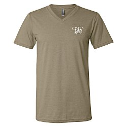 View a larger, more detailed picture of the Canvas Delancey V-Neck T-Shirt - Men s - Colors - Screen