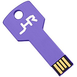 View a larger, more detailed picture of the Colorful Key USB Drive - 4GB