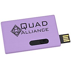 View a larger, more detailed picture of the Slide Card Micro USB Drive - 2GB