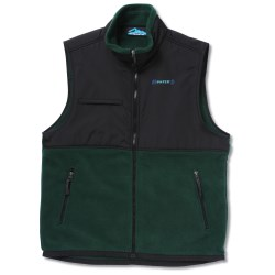View a larger, more detailed picture of the Surveyor Fleece Vest w Nylon Panel - Men s