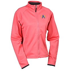 View a larger, more detailed picture of the Arena Polyknit Fleece Full Zip Jacket - Ladies