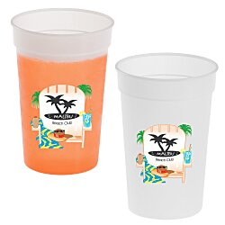 View a larger, more detailed picture of the Full Color Mood Stadium Cup - 17 oz
