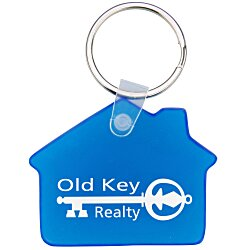 View a larger, more detailed picture of the House Soft Key Tag - Translucent