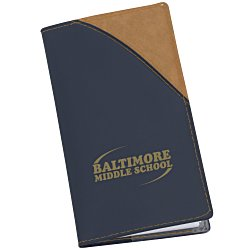 View a larger, more detailed picture of the Barcelona Two-Tone Memo Book