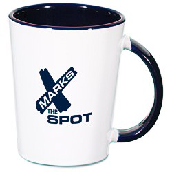 View a larger, more detailed picture of the Inner Hold Ceramic Mug - 11 oz