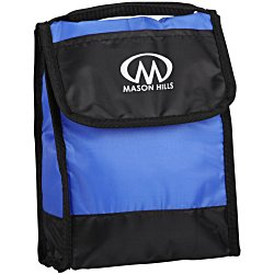 View a larger, more detailed picture of the Insulated Folding ID Lunch Bag