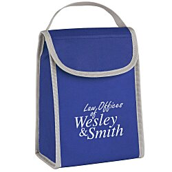 View a larger, more detailed picture of the Vivid Non-Woven Folding Lunch Bag