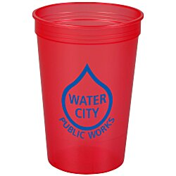 View a larger, more detailed picture of the Stadium Cup - 16 oz - Jewel