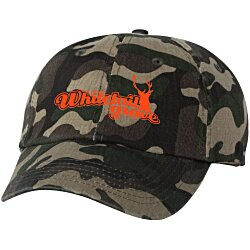 View a larger, more detailed picture of the Bio-Washed Cap - Camo - Transfer