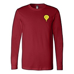 View a larger, more detailed picture of the Bella Canvas Long Sleeve Crewneck T-Shirt - Men s - Colors