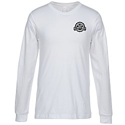 View a larger, more detailed picture of the Canvas Filmore LS Crewneck T-Shirt - Men s - White