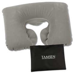 View a larger, more detailed picture of the Inflatable Travel Pillow - Closeout
