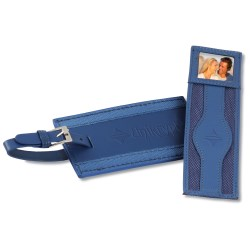 View a larger, more detailed picture of the Majestic Luggage Tag Bookmark Combo
