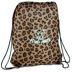 View a larger, more detailed picture of the Designer Drawcord Sportpack - Leopard