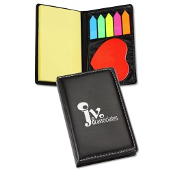 View a larger, more detailed picture of the Adhesive Notes with Die Cut Shape - Heart - 24 hr