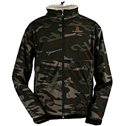 View a larger, more detailed picture of the Clique Softshell Jacket - Men s - Camo