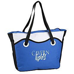 View a larger, more detailed picture of the Color Bright Cooler Tote