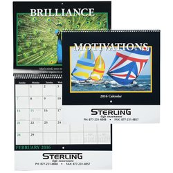 View a larger, more detailed picture of the Motivations 2016 Calendar - Spiral - Closeout