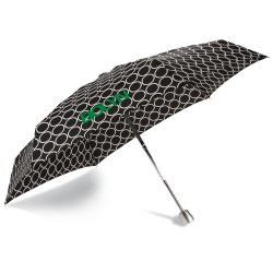 View a larger, more detailed picture of the totes Mini Auto Open Close Umbrella with Case - Metro Dot