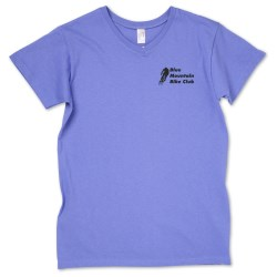 View a larger, more detailed picture of the Anvil 5 4 oz V-Neck - Ladies - Colors