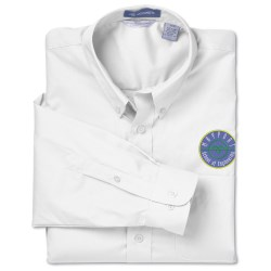 View a larger, more detailed picture of the Jockey Essentials Solid Poplin Shirt - Men s