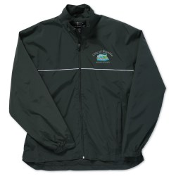 View a larger, more detailed picture of the Page & Tuttle Piped Poplin Jacket - Men s