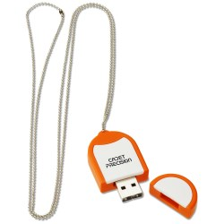 View a larger, more detailed picture of the Dog Tag USB Flash Drive - 1GB