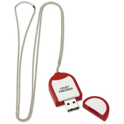 View a larger, more detailed picture of the Dog Tag USB Flash Drive - 2GB