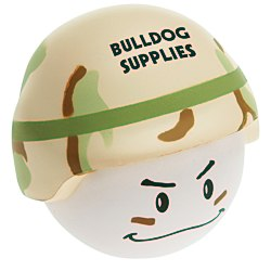 View a larger, more detailed picture of the Soldier Mad Cap Stress Reliever