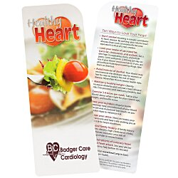 View a larger, more detailed picture of the Just the Facts Bookmark - Healthy Heart
