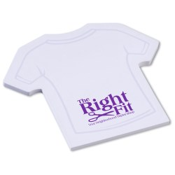 View a larger, more detailed picture of the Post-it&reg Custom Notes - Shirt - 50 Sheet - Stock Design 1