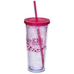View a larger, more detailed picture of the Dotty Color Scheme Spirit Tumbler - 20 oz