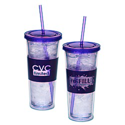 View a larger, more detailed picture of the Liquidate Color Scheme Spirit Tumbler - 20 oz