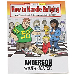 View a larger, more detailed picture of the How to Handle Bullying Coloring Book