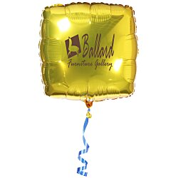 View a larger, more detailed picture of the Mylar Balloon - 22 - Square