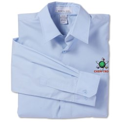 View a larger, more detailed picture of the North End Poplin Taped Shirt - Men s
